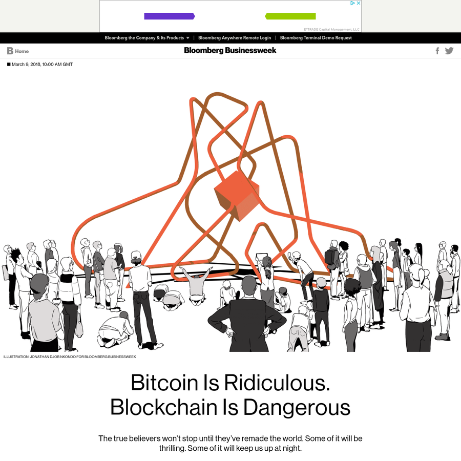 On the days when Bitcoin crashes, a holiday atmosphere takes over in my corners of the internet. People tweet screengrabs of Reddit fights. It's always good fun to watch strangers grieve as their digital nonsense nickels melt into slag. It's not that I want Bitcoin holders to suffer, really.