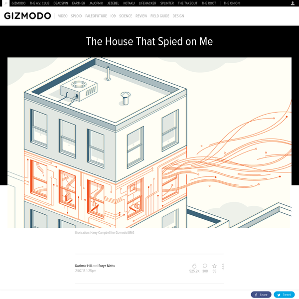 """In December, I converted my one-bedroom apartment in San Francisco into a """"smart home."""" I connected as many of my appliances and belongings as I could to the internet: an Amazon Echo, my lights, my coffee maker, my baby monitor, my kid's toys, my vacuum, my TV, my toothbrush, a photo frame, a sex toy, and even my bed."""