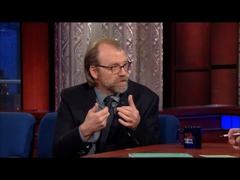 George Saunders tells Stephen about his writing process, the nun in his head and sings a song about winning (sort of).