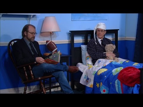 Stephen loves to end his night with a good bedtime story. This time, author George Saunders lulls Stephen to sleep with the real meaning of Christmas.