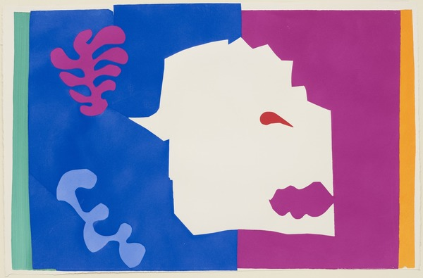 Henri Matisse The Wolf (Le Loup) from Jazz 1947