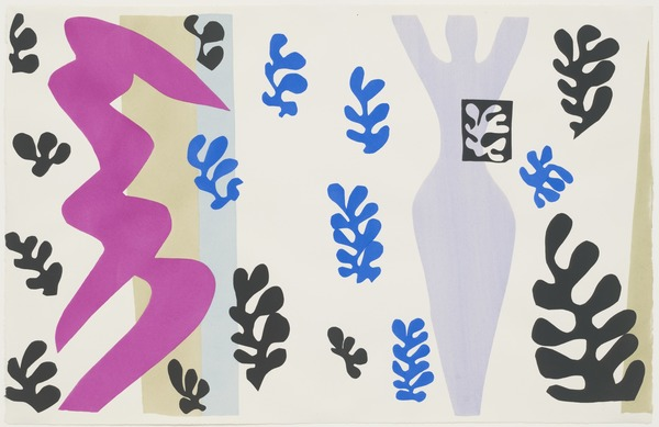 Henri Matisse The Knife Thrower (Le Lanceur de couteaux) from Jazz 1947