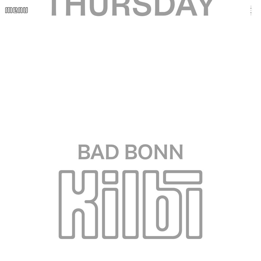 Bad Bonn Kilbi 2018, 31.5-2.6.2018