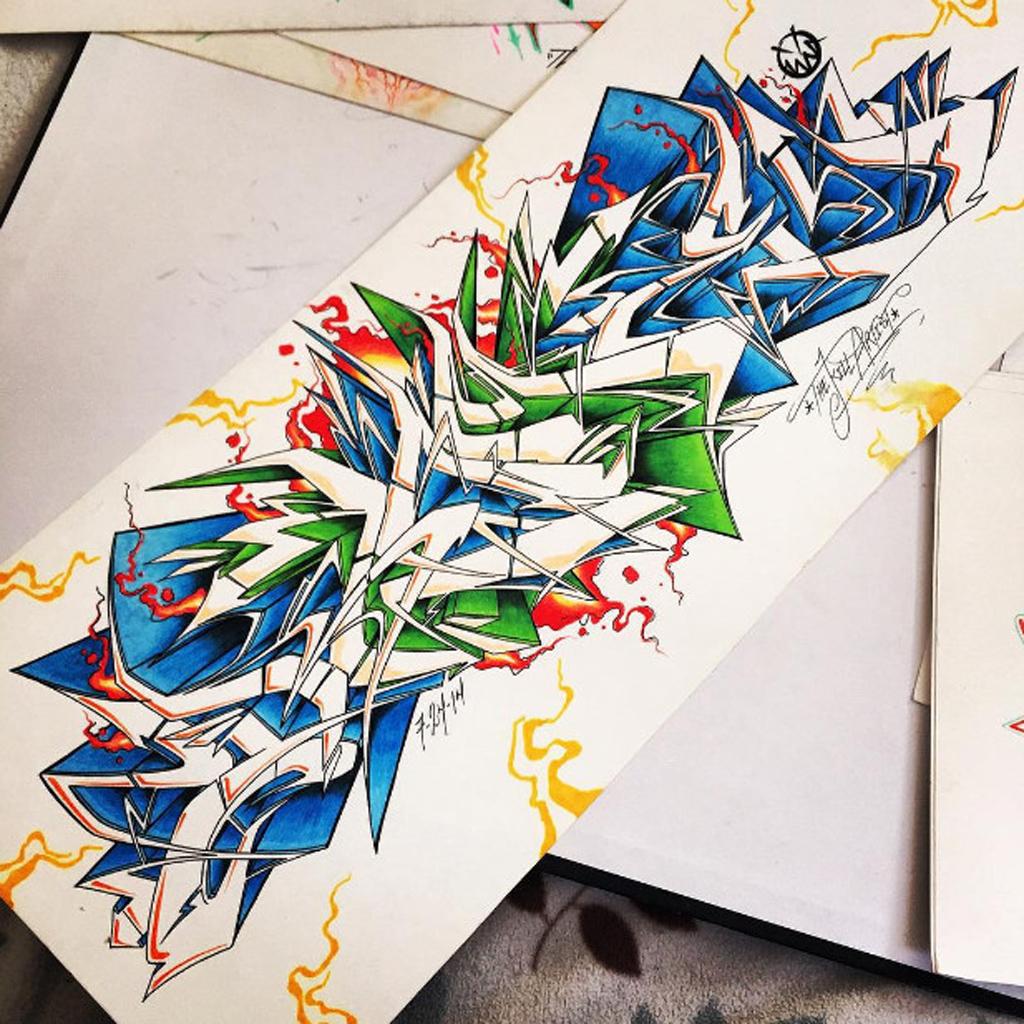 Sketch graffiti color graffiti letter amazing sketch draw