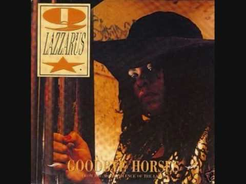 This is the original cover sleeve of the 'Goodbye Horses' single, so people can see that it is a woman singing. The picture is of Q Lazzarus. I too, initially thought it was a man singing, but knowing that it is not, does not detract from the fact that the song is amazing and powerful.