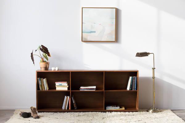 Douglas Bookcase - Solid Walnut Bookcase - Customizable - $1619.00 USD
