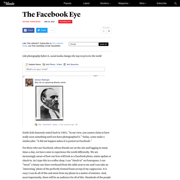 The Facebook Eye