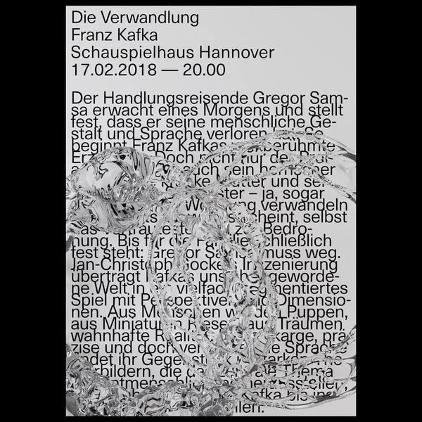 "430 Likes, 3 Comments - Johannes Schnatmann (@jot_undes) on Instagram: ""Schauspielhaus Hannover - fictional poster"""