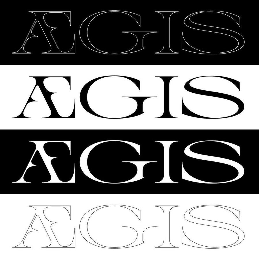 "140 Likes, 7 Comments - @michael_clasen on Instagram: ""ÆGIS type Sketch #typedesign #wip #typography #graphicdesign #artnouveau #glyphs"""