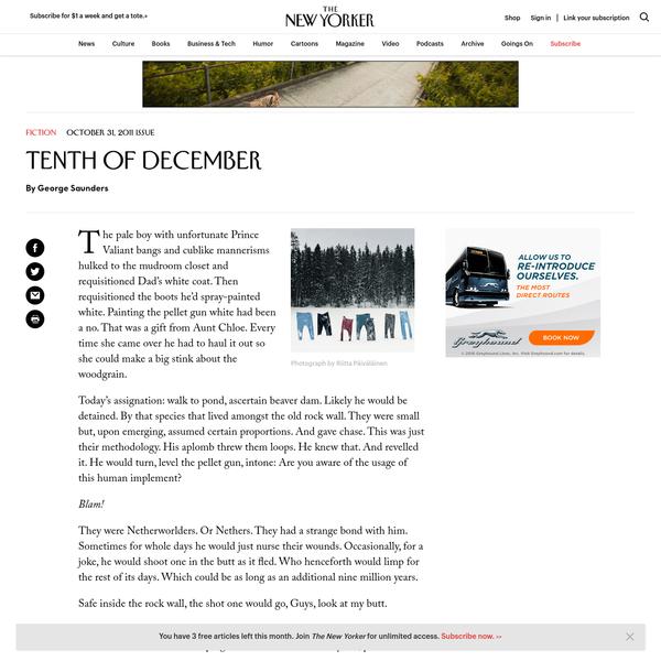 """Tenth of December"""
