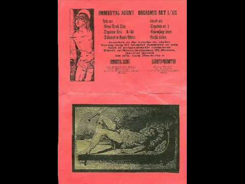 Immortal Agony - Dedicated To RV ( early 90's Italia Death Ambient / Noise )