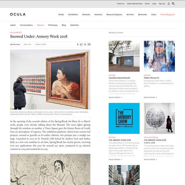 Ocula magazine press
