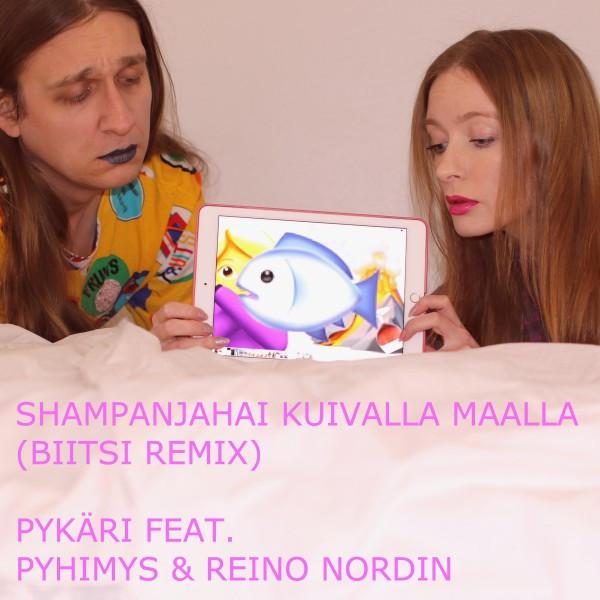 Shampanjahai kuivalla maalla (feat. Pyhimys & Reino Nordin) [Biitsi Remix], an album by Pykäri on Spotify