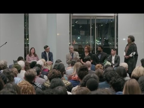 1:30 Ajay's statement The 2017 Biennial raises urgent questions around race, violence, the ethics of representation, and the limits of empathy. Taking the debate sparked by Dana Schutz's painting, Open Casket, as a starting point, the Whitney partnered with Claudia Rankine and the Racial Imaginary Institute to hold this free program.