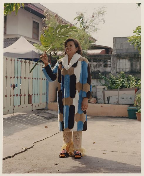 Dham Srifuengfung's Portraits Of His Childhood Nanny