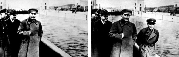 Stalin removes Yezhov