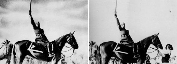 Mussolini removes horse trainer