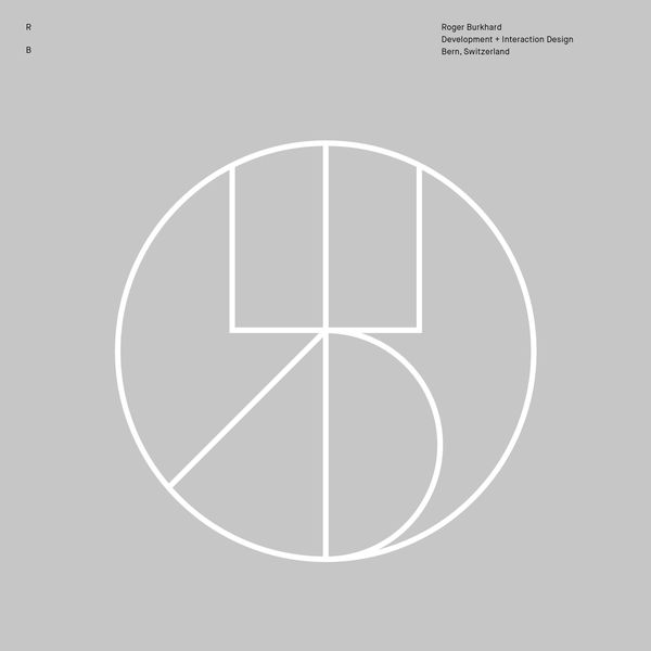 Roger Burkhard ~ Development + Interaction Design   Journal