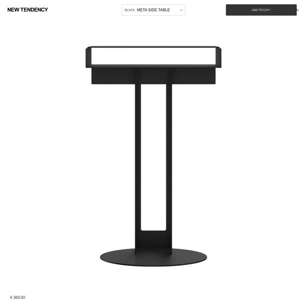 NEW TENDENCY - Meta Side Table