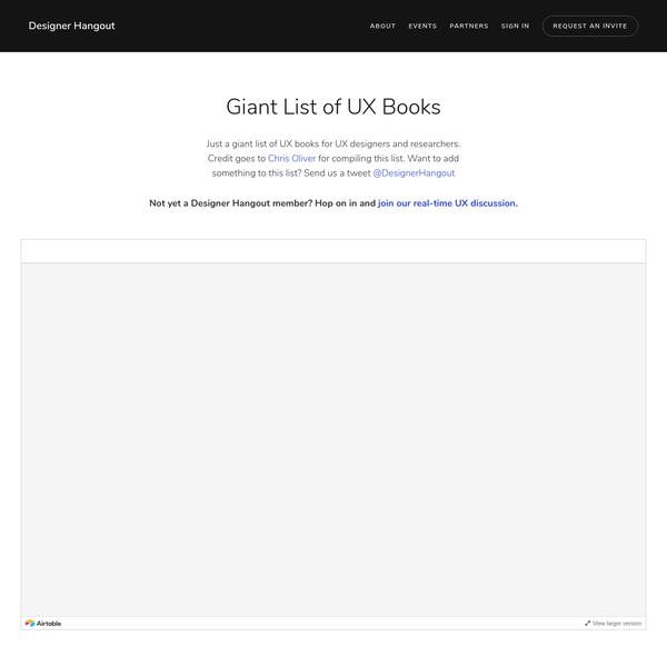 Books   Designer Hangout