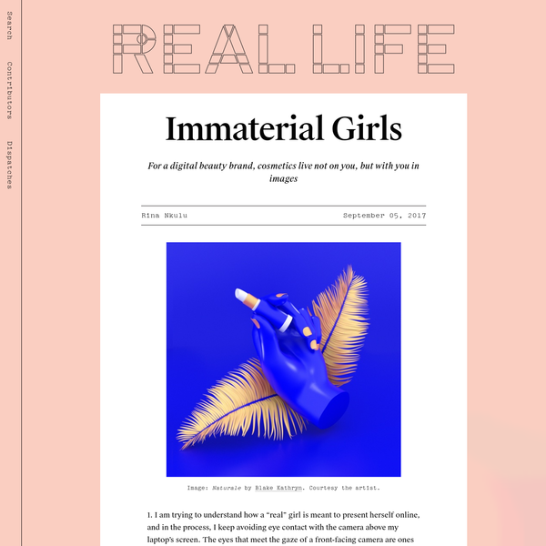 Immaterial Girls - Real Life