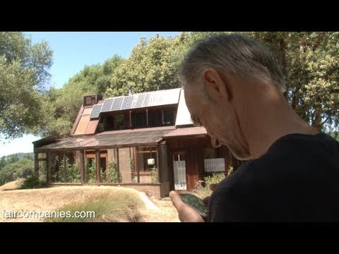 Norcal veteran coder customizes off-grid home with sensors