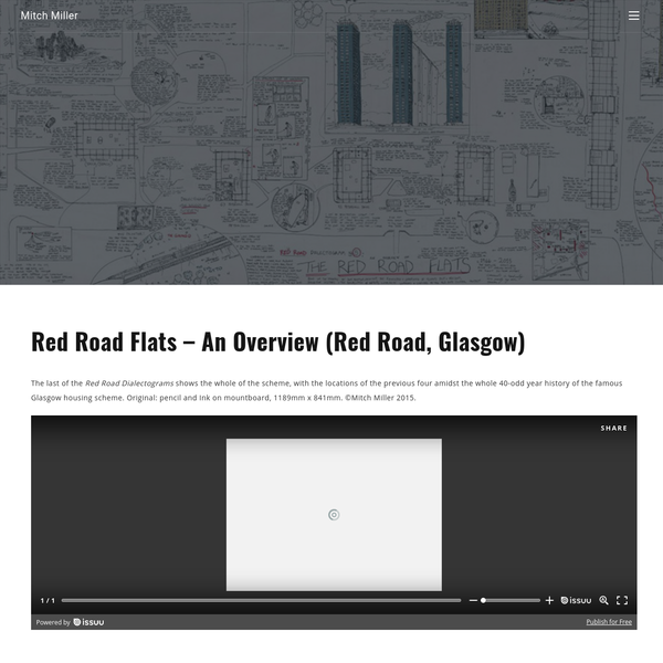 Red Road Flats - An Overview (Red Road, Glasgow)