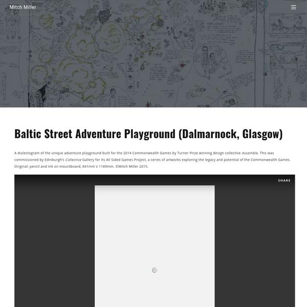Baltic Street Adventure Playground (Dalmarnock, Glasgow)
