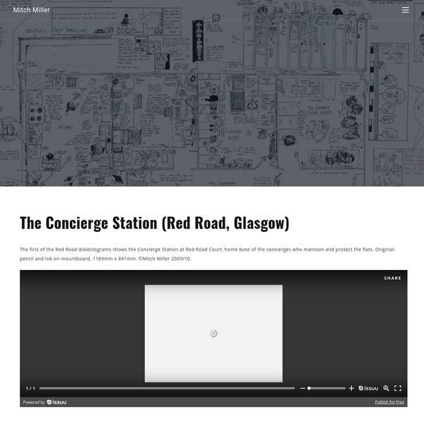 The Concierge Station (Red Road, Glasgow)