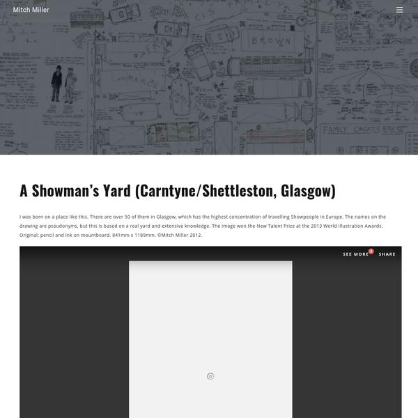 A Showman's Yard (Carntyne/Shettleston, Glasgow)