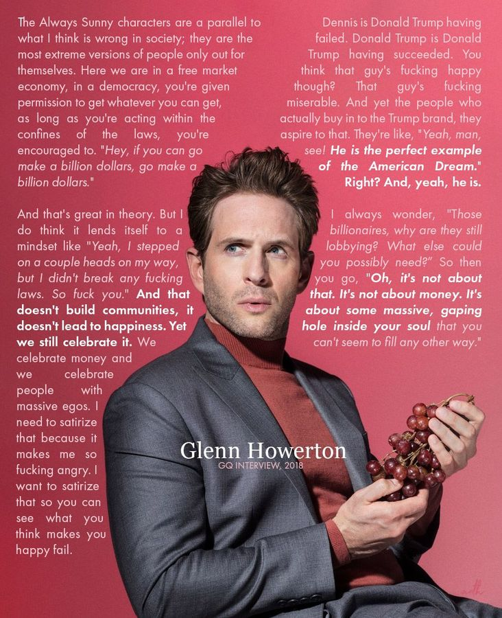 Glenn Howerton GQ Interview