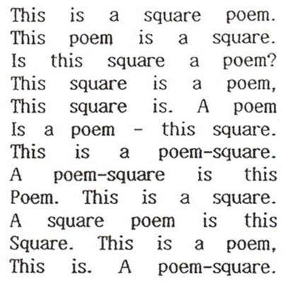 Square Poem (1989) http://www.ubu.com/sound/cobbing.html