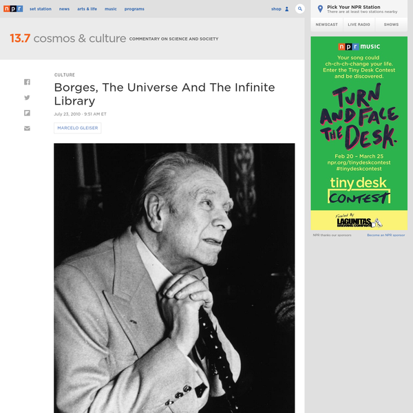 Borges, The Universe And The Infinite Library
