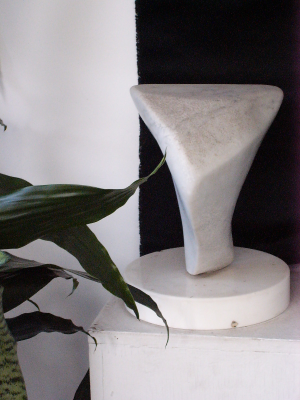 "H. Eshel Naturale Marble Sculpture ""Movement"""