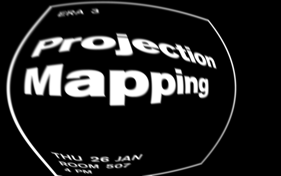ERA #9 - Projection Mapping Visual technique January 2017