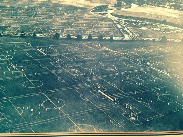 Hackney Marsh, 1951