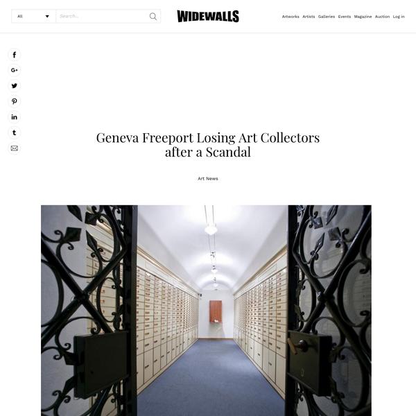 Geneva Freeport Losing Art Collectors after a Scandal