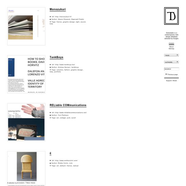 Contemporary web design database