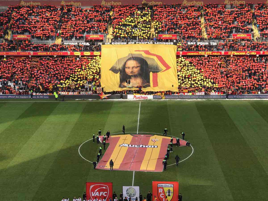 RC Lens petitioning to borrow the Mona Lisa from Paris