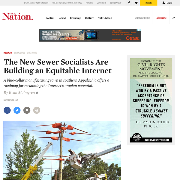 The New Sewer Socialists Are Building an Equitable Internet