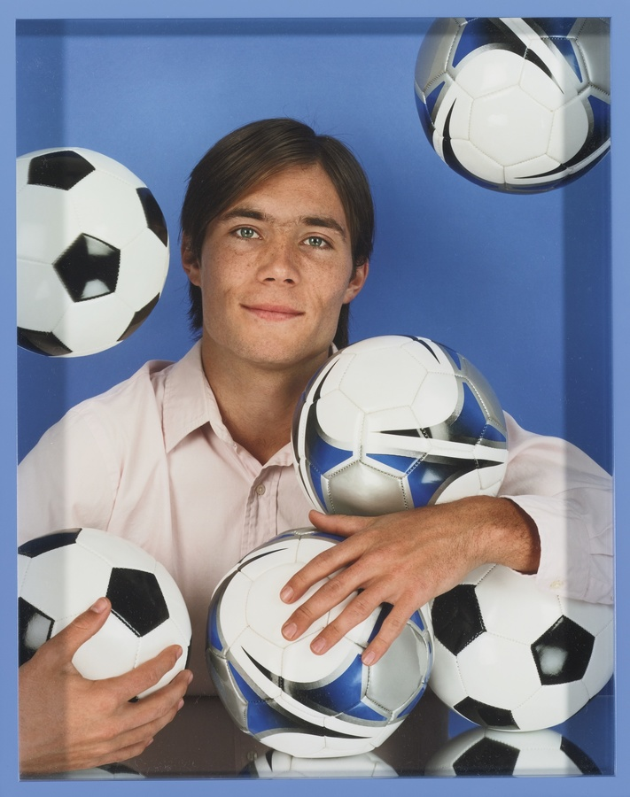 Elad Lassry, Man (Soccer Balls) (2012)