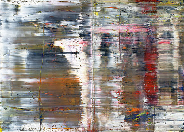 GERHARD RICHTER - 'Abstract Painting (726)' - original archival quality print - very large (Curwen Press, London) - $250.00 GBP
