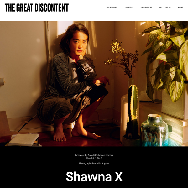 Shawna X was born and raised at a cultural crossroads; her Chinese heritage on the one side, and a newly-formed Asian American identity on the other. When she moved to the US from China at the age of 7, she quickly realized that language was a barrier to connecting with other kids.