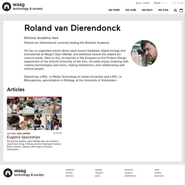 Roland van Dierendonck