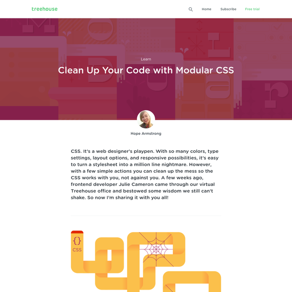 Clean Up Your Code with Modular CSS