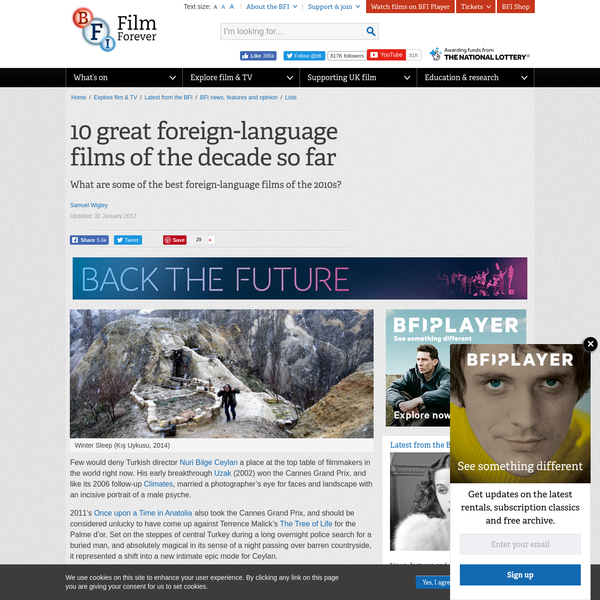 10 great foreign-language films of the decade so far
