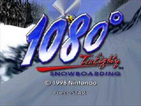 1080 Snowboarding- Work Your Body
