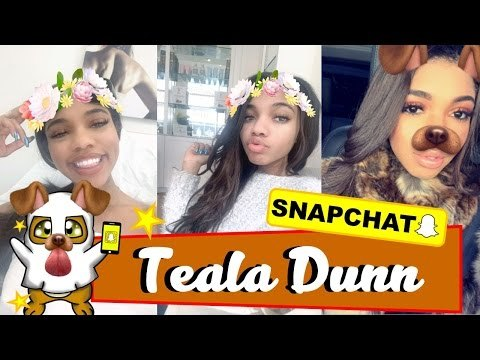 ● Teala Dunn | Spa Day, Chat And More | Snapchat