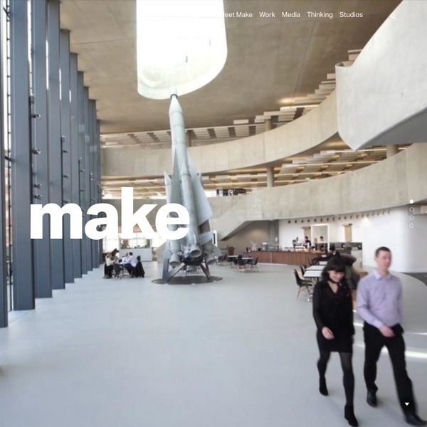 Make is a different kind of architecture practice. Founded by Ken Shuttleworth in 2004, we're an employee-owned firm pursuing a democratic design process that values everyone's input. With studios in London, Hong Kong and Sydney providing architecture, interior and urban design services from concept to completion.