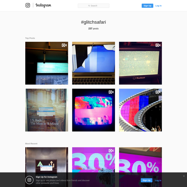 #glitchsafari * Instagram photos and videos